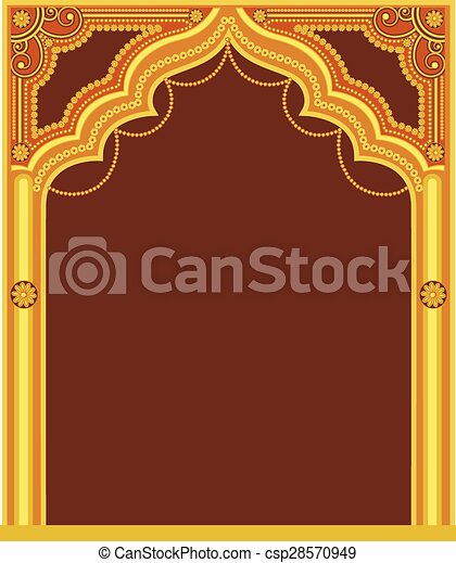 Golden Royal Frame Design