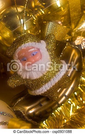 Golden Santa - csp0931088