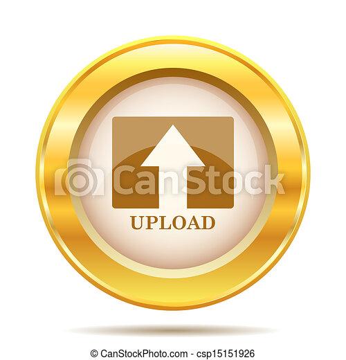 Golden shiny icon - csp15151926