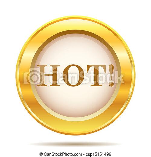 Golden shiny icon - csp15151496