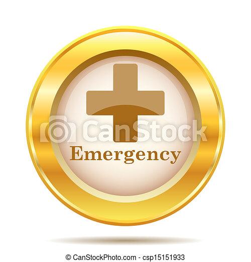 Golden shiny icon - csp15151933