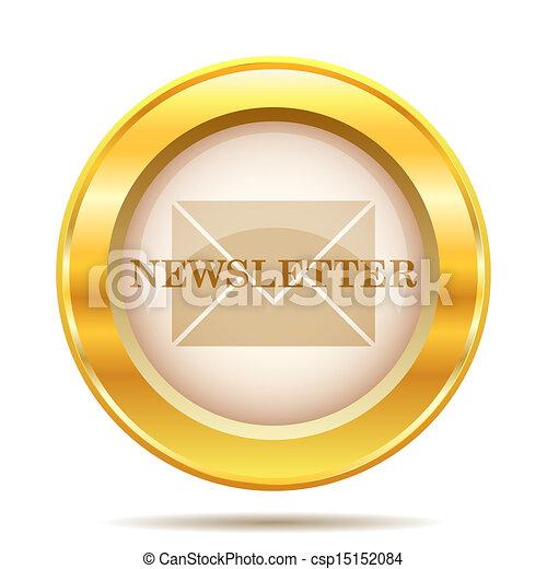 Golden shiny icon - csp15152084