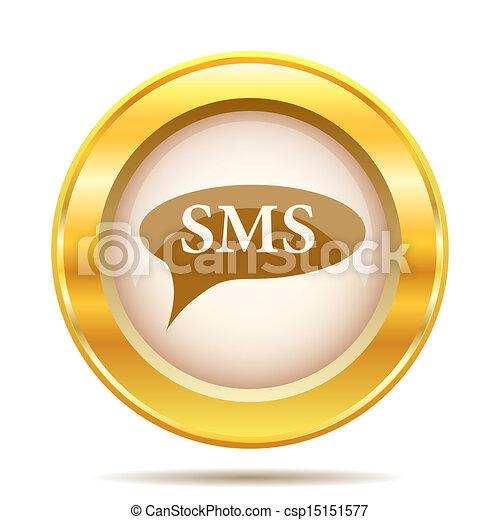 Golden shiny icon - csp15151577
