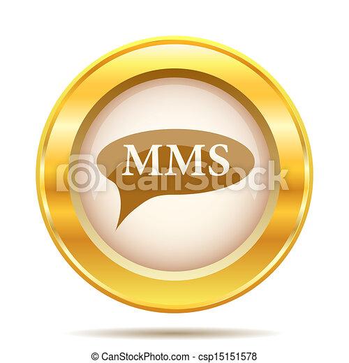 Golden shiny icon - csp15151578