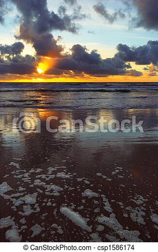 Golden Sunset - csp1586174
