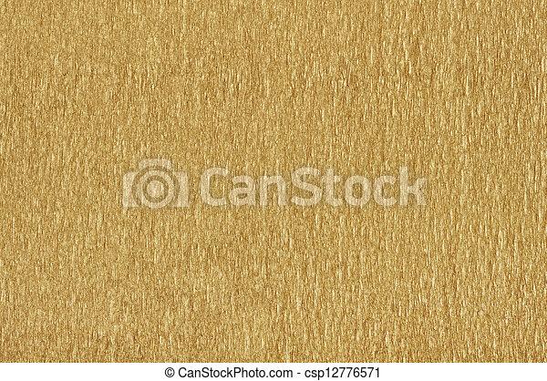 Golden  textured paper - csp12776571