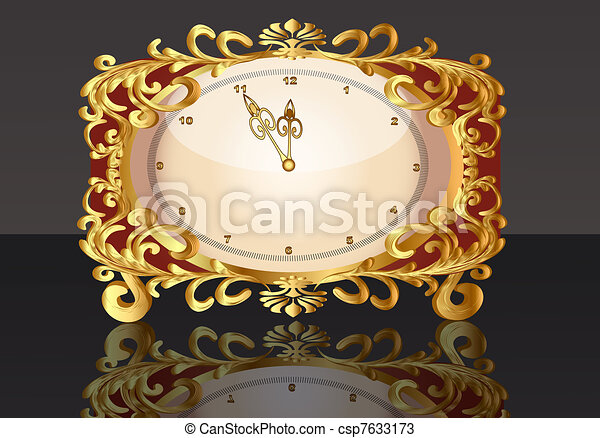 gold(en), vieux, montre, modèle - csp7633173