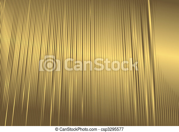 Abstract Goldener Hintergrund (vector) - csp3295577