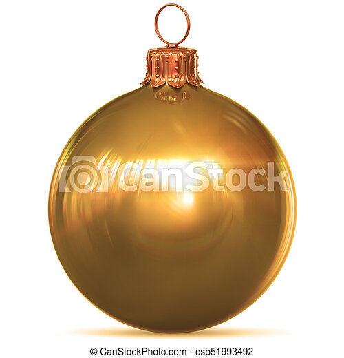 Weihnachtsdeko Gold.Goldenes Kugel Gold Gelber Weihnachtsdeko Jahr Neu Flitter