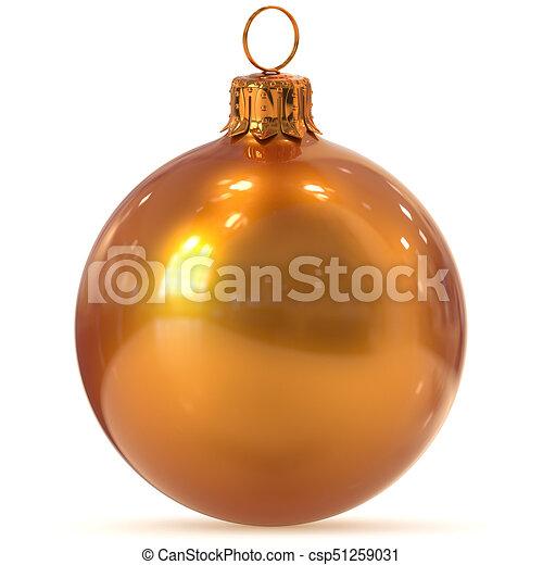 Suche Weihnachtsdeko.Goldenes Kugel Weihnachtsdeko Jahr Orange Neu Flitter