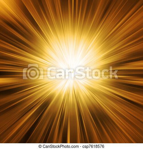 goldenes, leichter geschlossener kette - csp7618576
