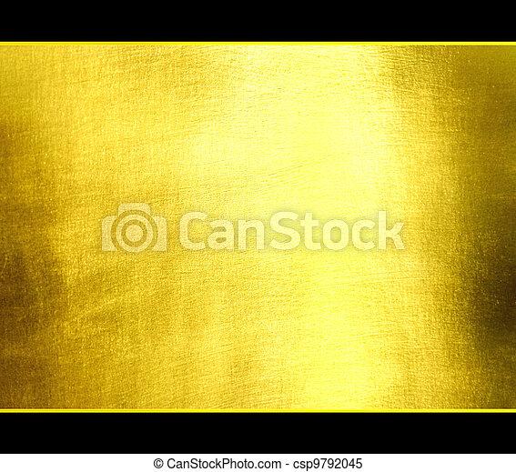 Luxuriöse, goldene Textur. - csp9792045