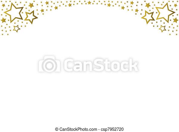 Goldene Sterne - csp7952720