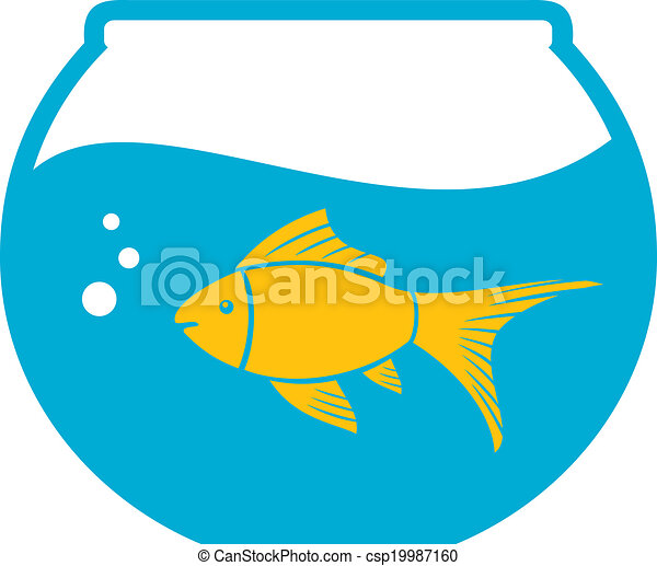 goldfish in a bowl bowl and fish golden fish in aquarium clip art rh canstockphoto ca clipart aquarium gratuit aquarium clip art free images