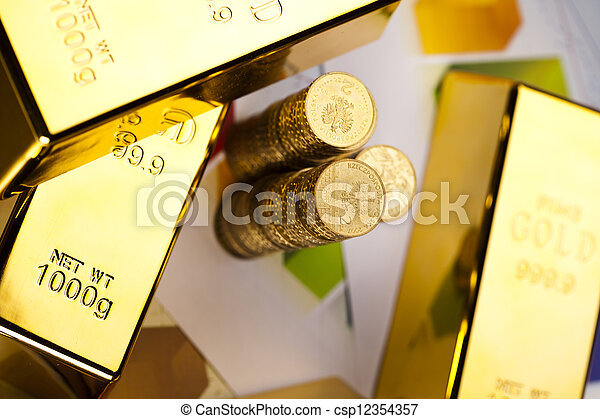 Gold&money - csp12354357