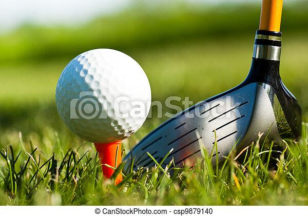 Golf - csp9879140