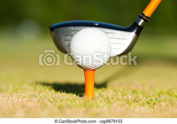 Golf - csp9879103