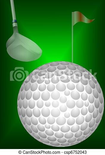 Golf ball - csp6752043