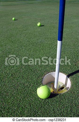 Golf Ball - csp1238231