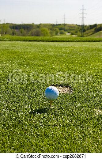 golf ball - csp2682871