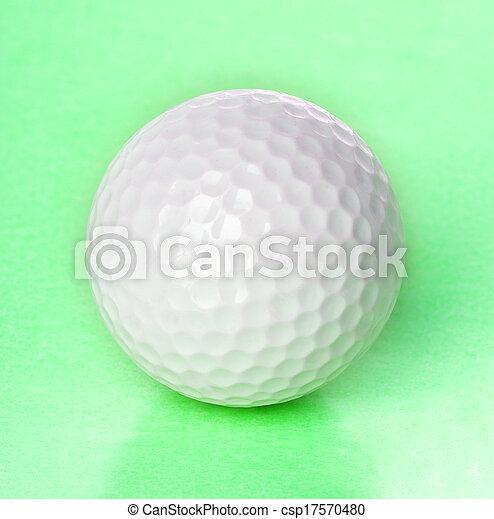 Golf ball - csp17570480