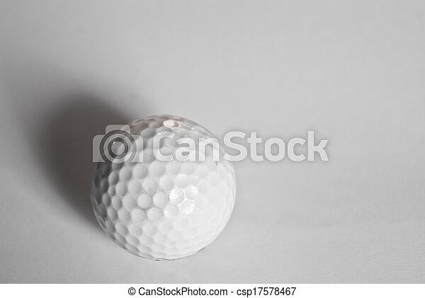 Golf Ball - csp17578467