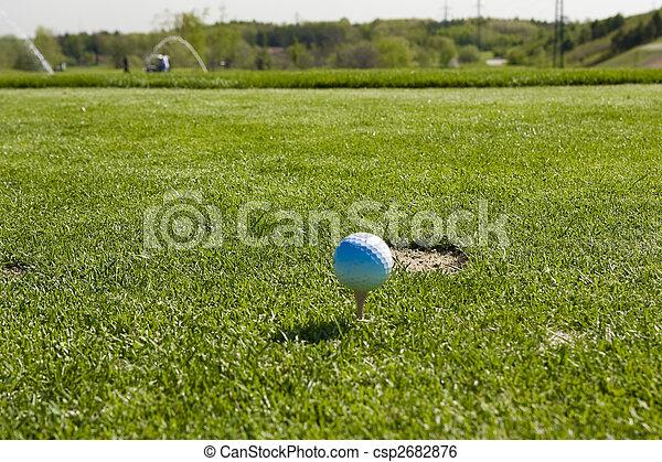 golf ball - csp2682876