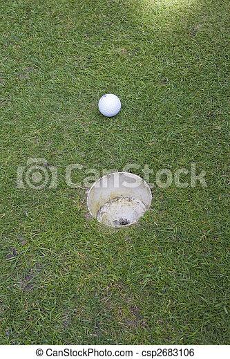 golf ball - csp2683106
