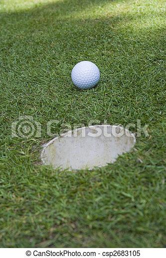 golf ball - csp2683105