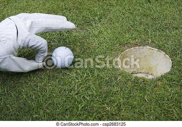 golf ball - csp2683125