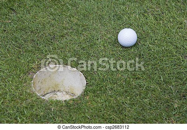 golf ball - csp2683112
