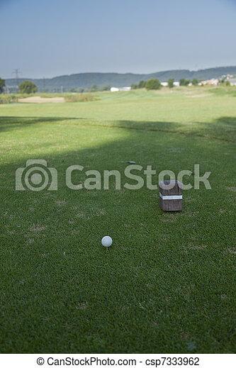 golf ball - csp7333962