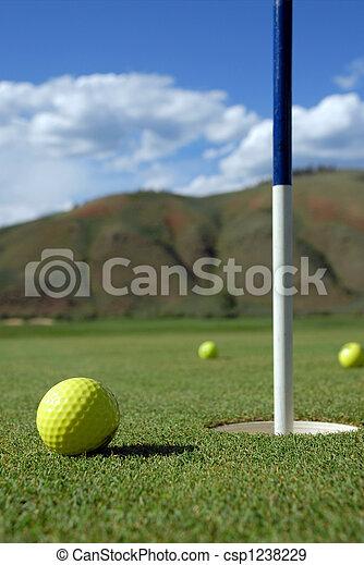 Golf Ball - csp1238229