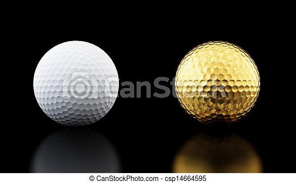 golf ball  - csp14664595