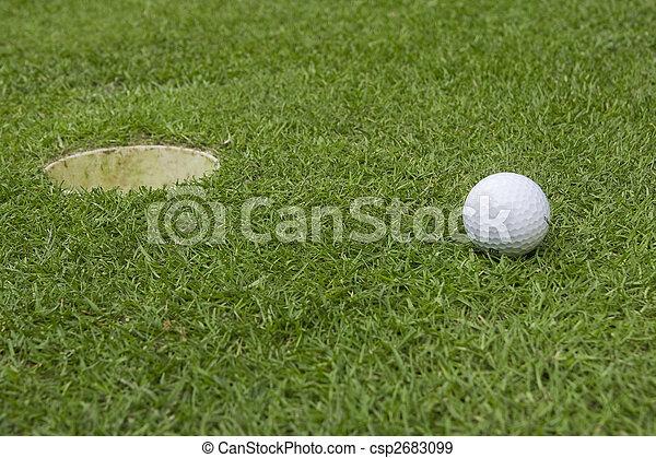 golf ball - csp2683099