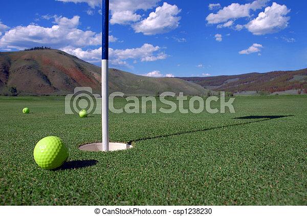 Golf Ball - csp1238230