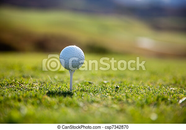 Golf ball - csp7342870