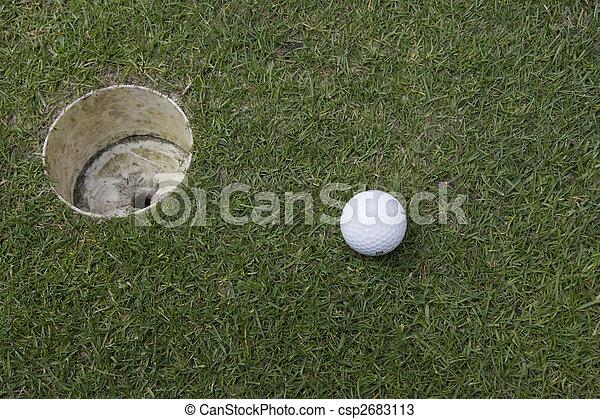 golf ball - csp2683113