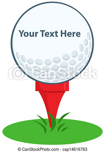 Golf Ball Tee Sign - csp14616763