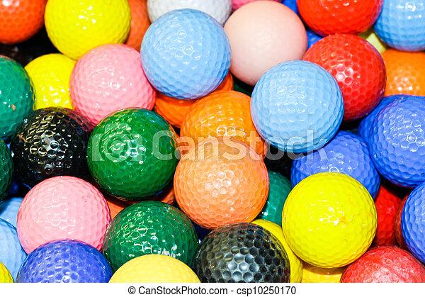 Golf balls - csp10250170
