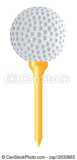 Golf - csp12033663