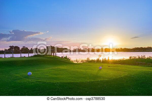 Golf Club Tee - csp3788530