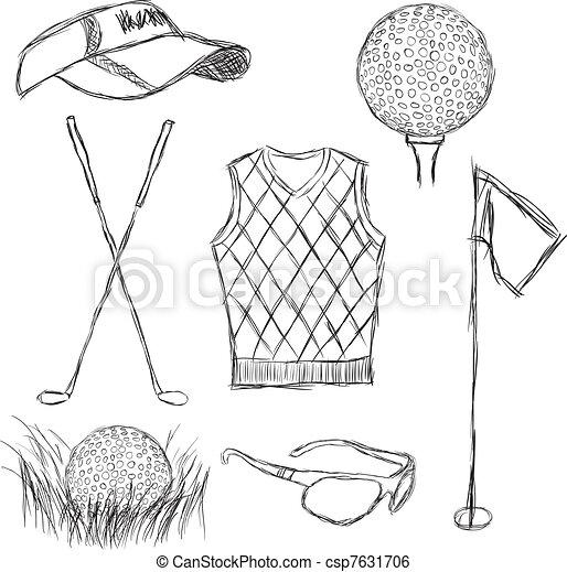 Colección de golf - csp7631706