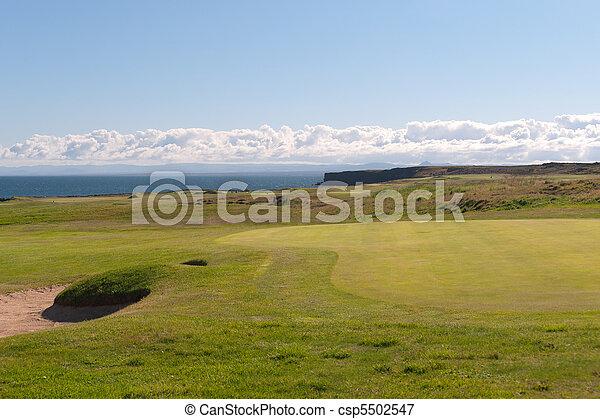 Golf Course - csp5502547
