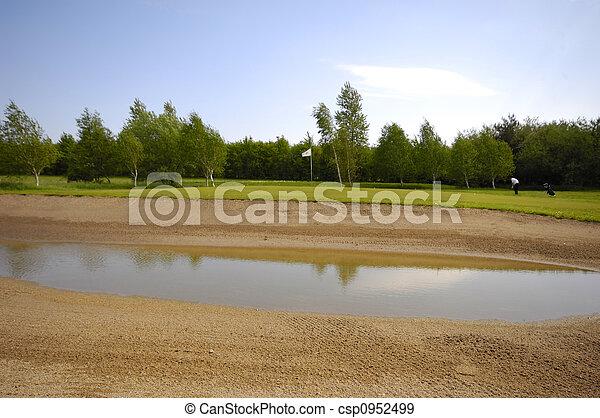 Golf course - csp0952499