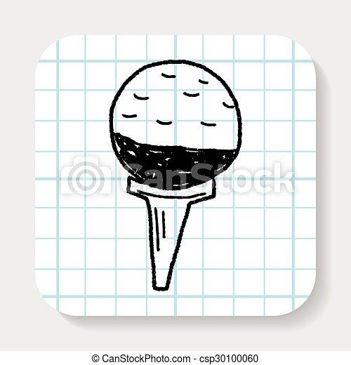 golf doodle - csp30100060