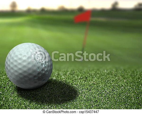 Golf - csp15437447