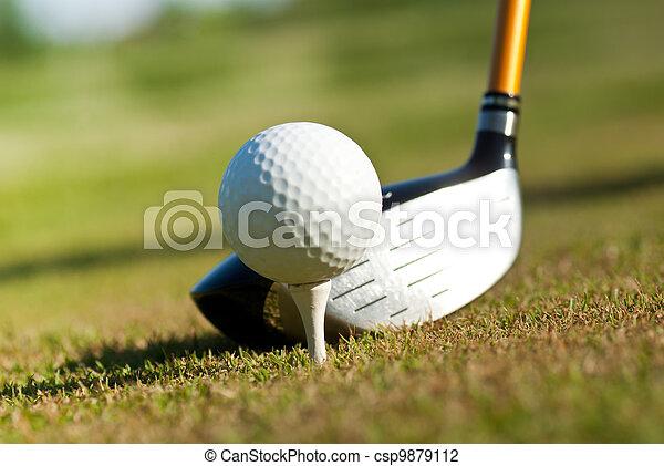 Golf - csp9879112