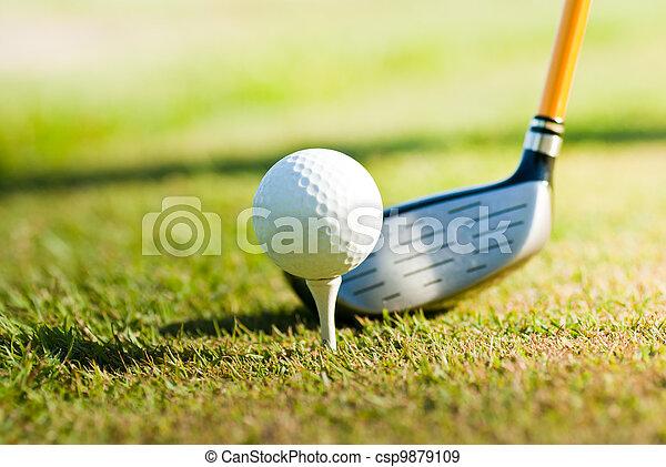 Golf - csp9879109