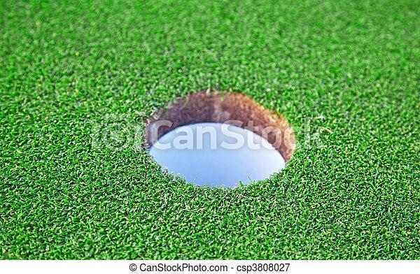 Golf Hole - csp3808027